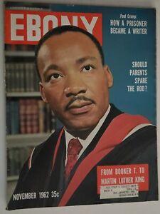 1962 Ebony Magazine Martin Luther King Bobby Darin Sidney Poitier Don Newcombe