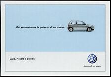 cartolina pubblicitaria PROMOCARD n.4215 VOLKSWAGEN AUTOMOBILI