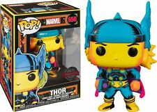 Funko POP! THOR [Blacklight] #650 Exclusive Marvel Vinyl Figure