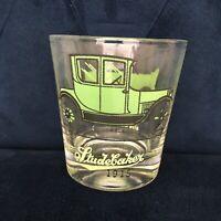 STUDEBAKER WAXWELL CAR VTG 70s 60s Old Fashsion Glass Lo Ball Whiskey Bar MCM