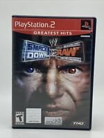 Wwe Smackdown Vs Raw (Sony Playstation 2 ps2) Complete 2004 Greatest Hits