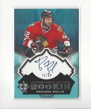 2012-13 Ultimate Collection #30 Brandon Bollig RC AUTOGRAPH Blackhawks /99