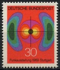 Alemania Occidental 1969 Sg # 1498 Radio exposición Mnh #d 460