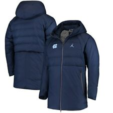 Men's Nike Jordan UNC North Carolina Tar Heels Coat Jacket Large L NWT $300