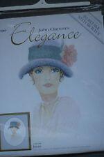 Heritage Stitchcraft Counted Cross Stitch Chart - Elegance - Jayne - J. Clayton