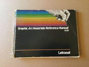 Vintage 1981 LETRASET Graphic Art Materials & Fonts Catalog