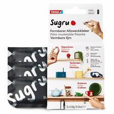 Sugru by tesa® - Formbarer Allzweckkleber, starker Allzweck-Klebstoff, 3er-Pack