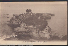France Postcard - Biarritz - Rocher Du Basta   MB273