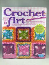 4M Childrens Learn to Crochet Art Kit for Kids 8+ Easy Beginnerd New Sealed Gift