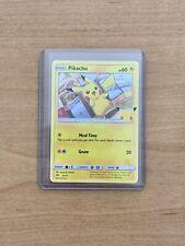 2021 Pokemon Mcdonalds Happy Meal Toy Pikachu Promo Card MINT CONDITION🔥🔥