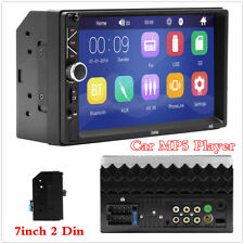 "7"" 2 Din Wince System HD Touch Screen Car MP5 Player Bluetooth Stereo FM Radio"