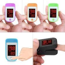 Finger Pulse Oximeter Oxygen Saturation Monitor Fingertip Blood Heart Rate Meter