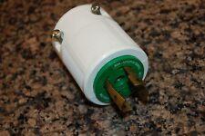 Leviton 30 Amp 125/250V GRDG Nema 14-30 Male Plug WC5961/117-1 NEW W/O BOX