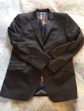 Luxurious TED BAKER Men's Pure Wool Blazer Jacket-size 40R Grey