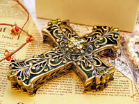 D75 Catholic Christian Cross Holy Religion Jesus Christ Crucifix Decoration M