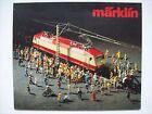 beau catalogue Märklin jouet train miniature HO locomotive 1980 FR