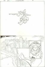 Red Hood Outlaws #34 p.4 - Comes w Signed Comic - ink art only by Wayne Faucher