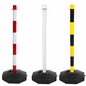 Post & Base Safety Security Queue Crowd Traffic Barrier System for Plastic Chain