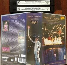 VHS VIDEO TAPE The Opening Ceremony of the 2000 Olympic Games Sydney Celebration