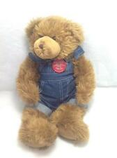 Build a Bear Teddy Bear Centennial Brown Limited w/Coveralls, Plush/Stuff Animal