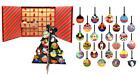 24 LE World Disney Pin Set Christmas Ornament Advent Calendar Mickey Ariel Dumbo