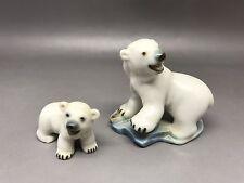 Wade Whimsies Polar Bear & Cub