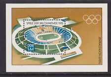 Germany DDR 1726 MNH 1976 21st Summer Olympic Games Montreal Souvenir Sheet VF