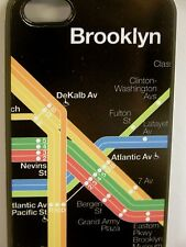 Brooklyn Mta Subway Map i Phone 5 Cell Phone Cover Case - Black Prospect Park