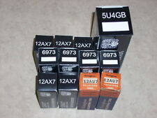 WURLITZER JUKEBOX 534 AMPLIFIER AMP TUBE KIT FOR 2300 2304 2310 STEREO