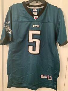 Vintage RBK NFL Donovan Mcnabb #5 Philadelphia Eagles Jersey T-shirt XL 18-20