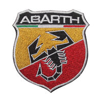 Abarth MotorCar Brand Logo Patch Iron On Patch Sew On Embroidered Patch
