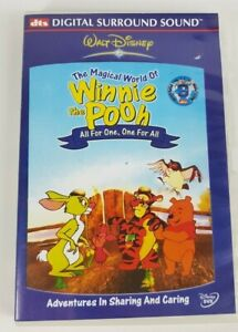 The Magical World of Winnie the Pooh All For One, One For All DVD Region 4