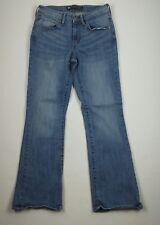 Levis Girls Jeans 4/27 Demi Curve Classic Rise Bootcut Fading Denim Womens