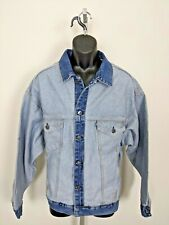 NWT Levis Made & Crafted Denim About Face Trucker Jacket Inside Out Mens Medium