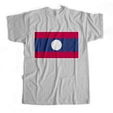 Laos | National Flag | Iron On T-Shirt Transfer Print