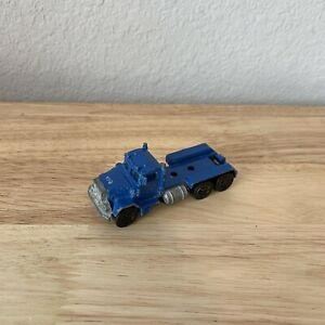 1979 Hot Wheels Blue Peterbilt Semi Truck Tractor Trailer Malaysia Loose