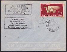 1er Jour VIETNAM EMPIRE PA N°1 du 8-3-1952, FDC Vietnam Sc#C1