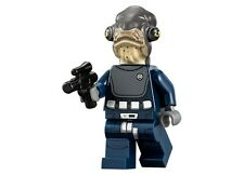 LEGO STAR WARS Rogue One Admiral Raddus MINIFIG from Lego set 75172 Brand New