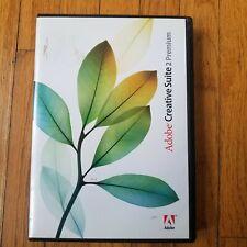 Adobe Creative Suite 2 Premium Macintosh Mac w/ Serial Number Training Education