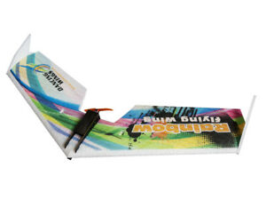 EPP Airplane Model Rainbow  V2 Fly Wing 800mm ZAGI RC PLANE SPANSWING Delta Wing