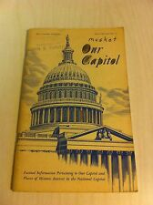 88th Congress 1st Session Document No 22 Our Capitol 1963 Book National Historic
