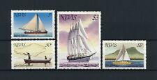 Nevis 114-17 MNH, Ships, 1980