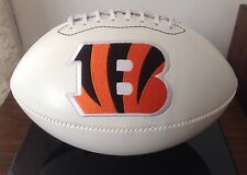 NFL Signature Series Full Size Rawlings Football  Cincinnati Bengals