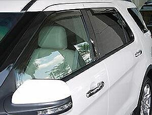 EGR 573631 In-Channel Slim Line Window Visors
