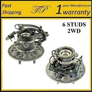 Front Wheel Hub Bearing Assembly For 2004-2005 CHEVROLET COLORADO (2WD Z85) PAIR