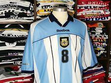 ARGENTINA home 2001 shirt - ZANETTI #8 - Inter Milan-Reebok-Maglia-Jersey