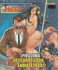 RELATOS DE PRESIDIO MEXICAN COMIC #256 MEXICO SPANISH HISTORIETA 1999 CRIME