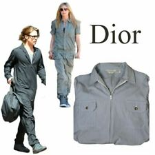 Vtg Dior Monsieur Engineer Mechanic Railroad Unisex Jumpsuit Flight Suit