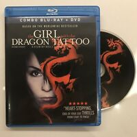 The Girl With the Dragon Tattoo (Blu-ray/DVD, 2010, 2-Disc Set, Canadian)