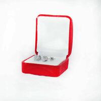 2.00 Karat Diamant Ohrring Ohrstecker 14K Weiß Gold Ohrstecker Ohrringe